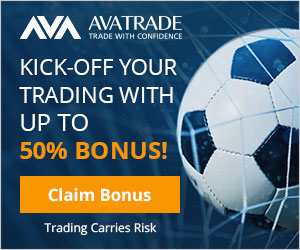AvaTrade Up to 50% Bonus